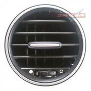 Difusor  De Ar Lateral D Painel P Fiat Grand Siena 013 014 Det Prata