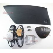 Kit Air Bag D Painel Bolsa Modulo Cinto Honda City 08 Á 011