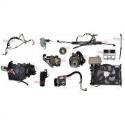 Kit Ar Condicionado e Direção Hidraulica Palio Strada Siena G3 1.0 1.3 e 1.4 8v 03 á 012