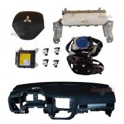 Kit air bag bolsas cintos modulo Painel p Mitsubishi Outlander 2014