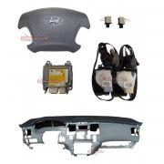 Kit Air Bag Azera 08 011 Duplo Bolsas Modulo Cintos Hyundai