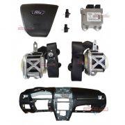 Kit Air Bag Painel Bolsas Modulo Cintos Ford Fusion 010 011 012