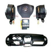 Kit Air Bag Polo 011 012 Bolsa Painel Modulo Cinto