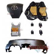 Kit Air Bag Modulo Bolsa Painel Cinto Toyota Corolla 2014