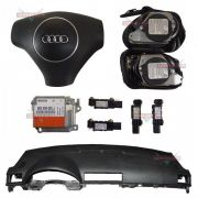 Kit Air Bag Bolsas Cintos Modulo Painel Original Audi A4 01 02 03 04