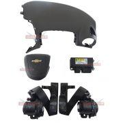 Kit Air Bag Bolsas Cintos Modulo Gm Sonic 013 014