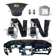 Kit Air Bag Bolsas Modulo Cintos Painel Original Hyundai I30 014 015 016 017