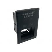 Acabamento do Painel Suporte do Botão de Alerta Led Indicador Air Bag Passenger On Off 5g1919225 Vw Golf 014 015 016 017 018 019