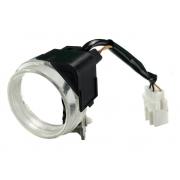 Aro de Iluminação do Miolo de Contato com Interruptor de Acionamento Mitsubishi L200 Triton Pajero Dakar 08 09 010 011 012 013 014 015