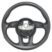 Aro Volante De Direção Em Couro Original 8u0419091ac Audi Q3 012 013 014 015 016 017