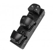 Conjunto Botão Interruptor Comando Vidro Elétrico Esquerdo Motorista 254013SH1A Nissan Sentra 013 014 015 016 017