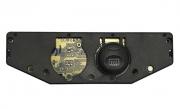 Botão de Desembaçador Traseiro Placa do Comando de Ar Original 97kp19d840ad Ford Fiesta Ka 97 98 99 00 01 02