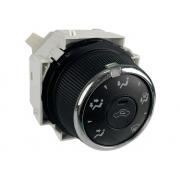 Botão Interruptor 5590175f603 Recirculador e Direcionador do Comando Controle de Ar Condicionado do Painel Toyota Corolla Rav4 013 014 015 016 017 018