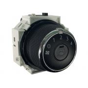 Botão Interruptor 75f655 Desembaçador Traseiro e Velocidade do Ventilador do Comando Controle de Ar Condicionado do Painel Toyota Corolla Rav4 013 014 015 016 017 018
