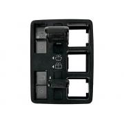 Conjunto Chave Botão Interruptor de Limpador de Para-brisa com Traseiro Fiat Uno Elba 84 85 86 87 88 89 90 91 92 93 94