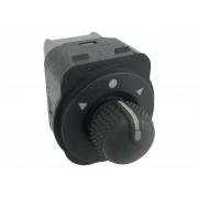 Botão Interruptor de Regulagem do Retrovisor Elétrico Fiat Palio G6 Grand Siena 012 013 014 015 016 017 018 019 020 021