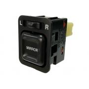 Botão Interruptor de Regulagem do Retrovisor Elétrico Honda Crv 97 98 99 00 01