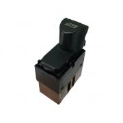 Botão Interruptor de Vidro Elétrico Conector Marrom Traseiro Direito do Conjunto do Motorista Fiat Marea Brava 99 00 01 02 03 04 05