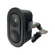 Botão Interruptor de Vidro Elétrico Porta Traseiro 90318942 03930700 Gm Vectra 94 95 96