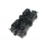 Conjunto Botão Interruptor de Vidro Elétrico Quadruplo do Console 1688205710 A1688205710 Mercedes Classe A 99 00 01 02 03 04 05