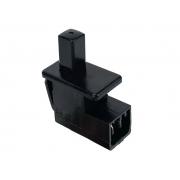 Botão Interruptor do Acionamento da Luz Interna do Porta Luvas Peugeot 207 Hoggar 09 010 011 012 013 014