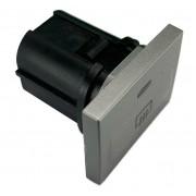 Botão Prata Interruptor de Desembaçador Traseiro Do Painel Ford 8v4t18c621ab Focus 09 010 011 012