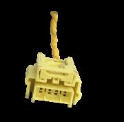 Chicote Plug Conector Amarelo Traseiro Do Hard Disk Air Bag Toyota Corolla