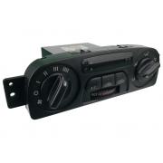 Comando Controle de Ar Condicionado do Painel Ventilador Desembaçador Direcionador Ar Quente Relógio Digital ok9a361190 Kia Clarus 96 97 98 99 00