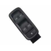 Conjunto Botão Interruptor de Vidro Elétrico Dianteiro Esquerdo Motorista e3b514a132bb Ford Ka 014 015 016 017 018 019 020