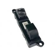 Conjunto Botão Interruptor de Vidro Elétrico e Trava Dianteiro Direito Porta Passageiro 252108b700 254118b700 255618b400 Nissan Frontier 98 99 00