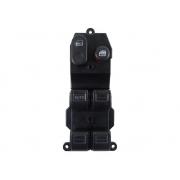 Conjunto Botão Interruptor de Vidro Elétrico e Trava Motorista 35755saa405m1 Honda Fit 03 04 05 06 07 08