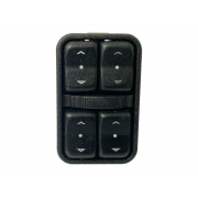 Conjunto Botão Interruptor De Vidro Elétrico Porta Motorista 11 Pinos 93315092 Gm Corsa G2 e Meriva 02 03 04 05 06