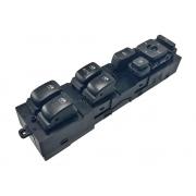 Conjunto Botão Interruptor de Vidro Elétrico Trava de Portas Regulagem e Rebatimento Recolhimento do Retrovisor Elétrico 935703l355x6 Hyundai Azera 08 09 010 011