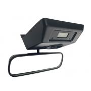 Espelho Retrovisor Interno 0243013 0246563 Console de Teto 5011766 Luz de Cortesia Leitura Relógio de Horas Digital Reloginho Fiat Uno Premio Elba 84 85 86 87 88 89 90 91 92 93 94