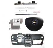Kit Air Bag Bolsa do Motorista e Passageiro Modulo Painel Tabelier Grafite Agile Ltz 010 011 012