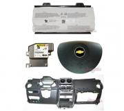 Kit Air Bag Bolsa do Motorista e Passageiro Modulo Painel Tabelier Grafite Montana Ltz 010 011 012