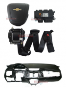 Kit Air Bag Prisma Onix 014 017 Bolsas Modulo Painel