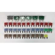 Kit Fusíveis do Modulo Central BSI Caixa de Fusíveis Delphi 9667082180 m02 Citroen C3 Aircross 2011 2012 2013 2014 2015