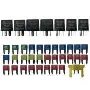 Kit Fusíveis e Reles 9522429800 3735901u1010 3735907u1010 do Modulo Central BSI Caixa de Fusíveis do Painel Jac J6 011 012 013 014