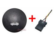Kit Plug + Botão Interruptor Do Painel Abertura do Porta Malas 7s55198514aa Ford Ka  08 09 010 011 012 013 014