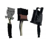 Kit Plug Conector Chicote do Comando Controle Ar Condicionado Digital do Painel Desembaçador Ventilador Ar Quente 96841424xt Peugeot 207 07 08 09 010 011