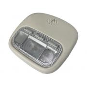 Lanterna Luminária Luz de Cortesia 9680713880 Frontal do Teto com Moldura Bege 9648338577 Citroen C4 07 08 09 010 011 012 013