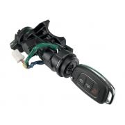 Miolo de Contato Trava de Ignição com Comutador de Partida Antena Code e Chave 39x61011101 Hyundai Hb20 012 013 014 015 016 017 018