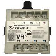 Modulo de Vidro Controle de Porta Dianteiro Direito a2059001411 Original Mercedes C180 W205 014 015 016 017 018