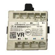 Modulo de Vidro Controle de Porta Dianteiro Direito a2059004121 Original Mercedes C200 W205 014 015 016 017 018