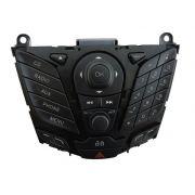 Painel Teclado Comando Frente do Som D3BT18K811DB Ford New Fiesta 013 014 015 016