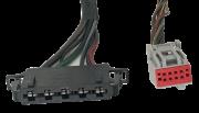 Par de Plug Conector Do Comando de ar Condicionado VW Fox 2005 2006 2007 2008 REF 18343 18333