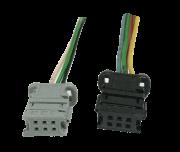 Par de Plug Do Conjunto De Botão de Vidro Elétrico e Retrovisor Sem Recolhimento 96531123xt Peugeot 307 07 08 09 010 011 012 SLG