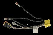 Plug Chicote Conector 5u0971584g Do Volante Fox Crossfox 2009 2010 2011 2012