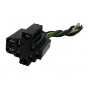 Plug Chicote Conector 9 Vias 8 Fios Do Botão Ventilador e Desembaçador do Comando De Ar Gm Celta Prisma Corsa 95 96 97 98 99 00 01 02 03 04 05 06 07 08 09 010 011 012
